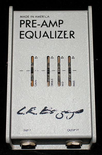Pre Amp / Equalizer