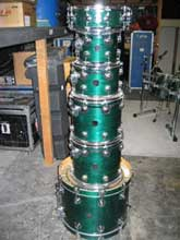 DW Maple: Green Lacquer
