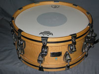 Ayotte: 18 Ply Satin Natural w/ Wood Hoops