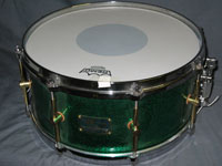 Canopus: Maple/Green Sparkle
